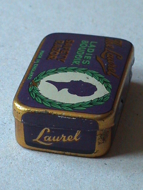 Vintage Shaving The Laurel Ladies Boudoir Safety Razor In